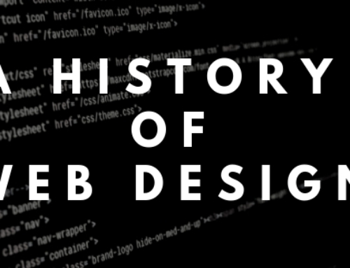 A History of Web Design
